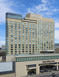 Daytime exterior view of the Westin Ottawa hotel.